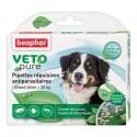 Pipettes répulsives antiparasitaires Beaphar pour chien