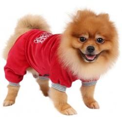Jogging velours Copyright pour chien