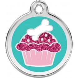 Médaille Cupcake pour chien
