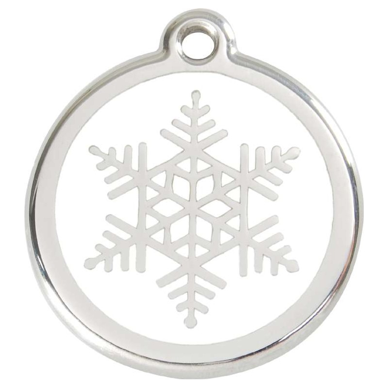 Médaille Flocon pour chien