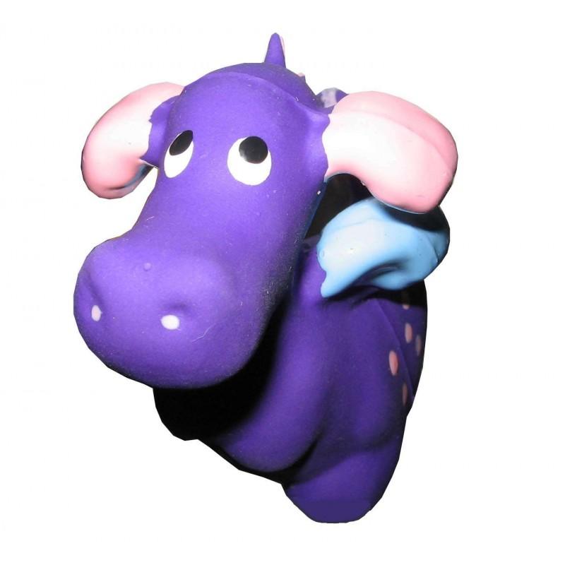 Jouet Hippo violet pour chien