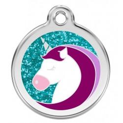 Médaille Licorne pour chien