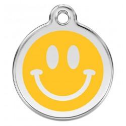 Médaille Smiley pour chien