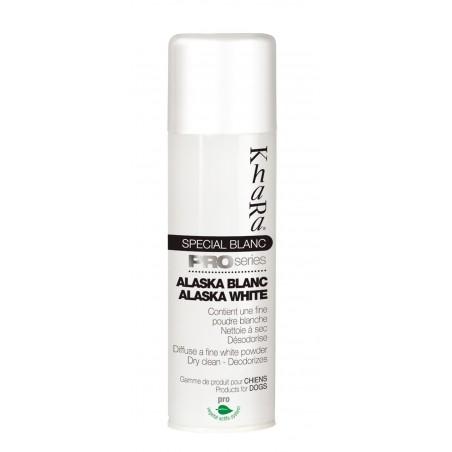 Spray blancheur Alaska White Khara pour chien