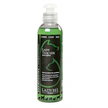 Shampooing Lady Tiqcide Ladybel pour chien