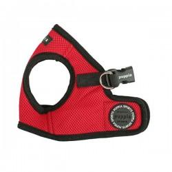 Harnais veste sport rouge pour chien