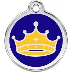 Médaille Couronne bleue pour chien