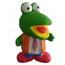 Jouet grenouille Kermit en latex pour chien