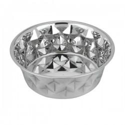 Gamelle inox Diamond pour chien