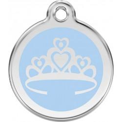 Médaille Prince bleu pour chien