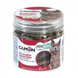 Friandises anchois séchés pour chat