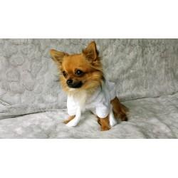Peignoir éponge pour chien