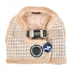 Harnais veste fourré Sheperd beige pour chien