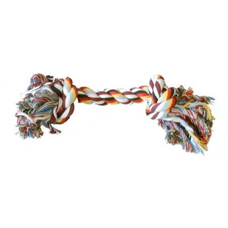 Jouet noeud corde coton pour chien