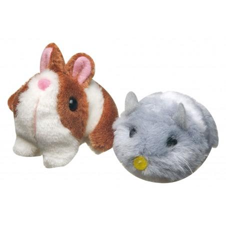Jouet hamster vibrant pour chat