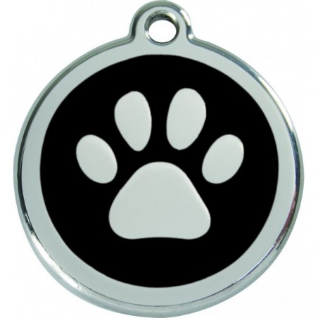 Médaille Patte noire pour chien