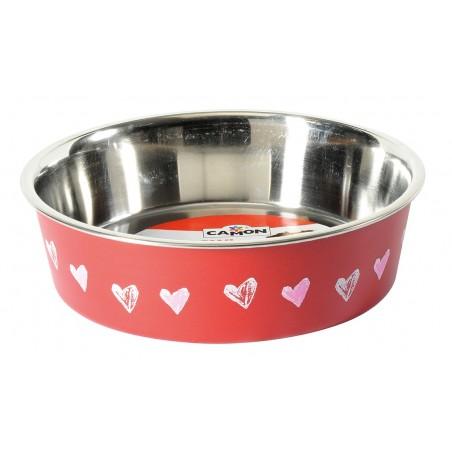 Gamelle plat inox pour chien