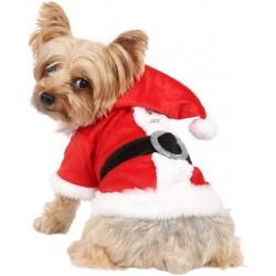 Manteau de Noël pour chien