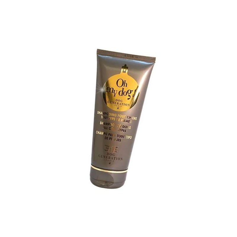 Shampooing tube Oh my dog ! pour chien