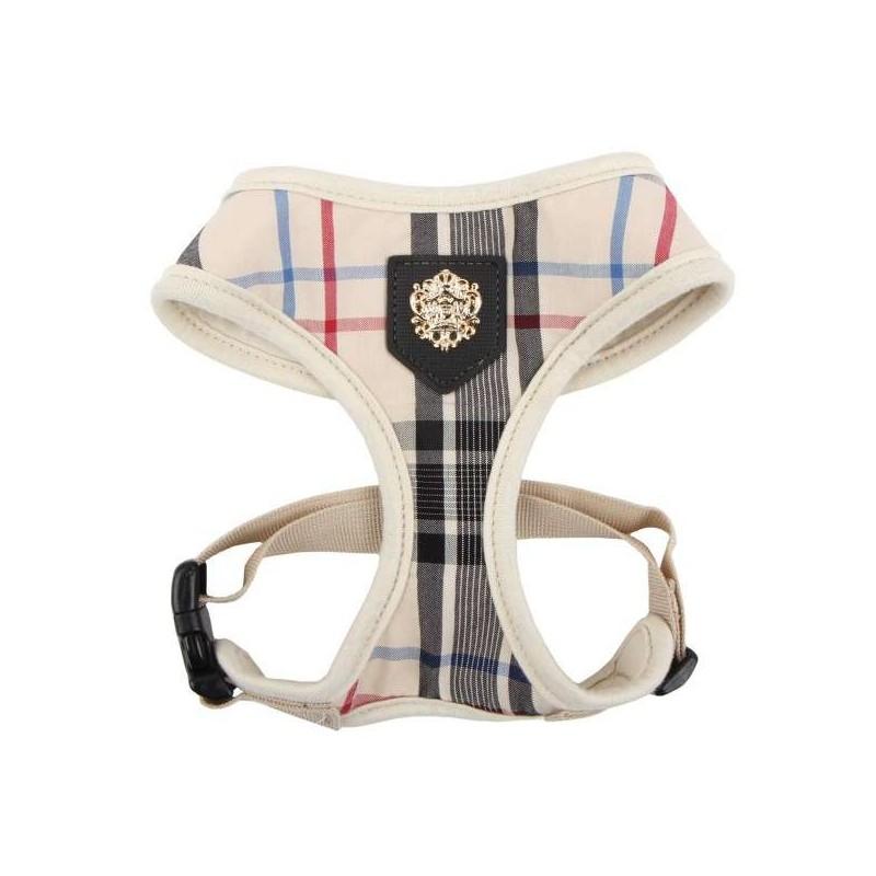 Harnais réglable en tissu British  pour chien