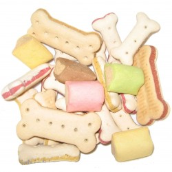 Biscuits variés au poids pour chien