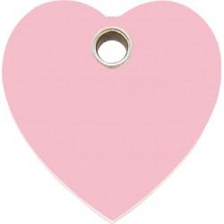 Médaille Coeur Rose pour chien
