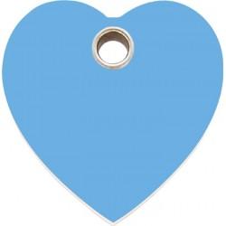 Médaille Coeur bleu pour chien et chat