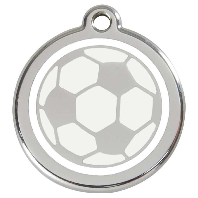 Médaille Ballon de football pour chien