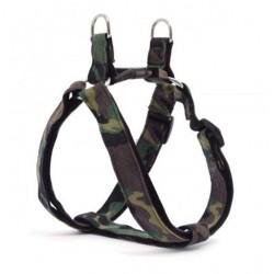 Harnais nylon Camouflage pour chien