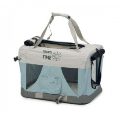 Cage de transport pliable Travel Time pour chien