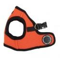 Harnais veste orange pour chien