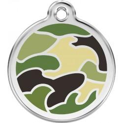 Médaille camouflage pour chien
