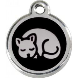 Médaille chat noir pour chat