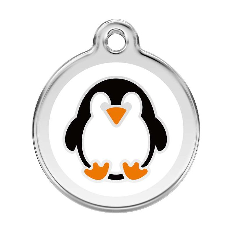 Médaille Pingouin pour chien