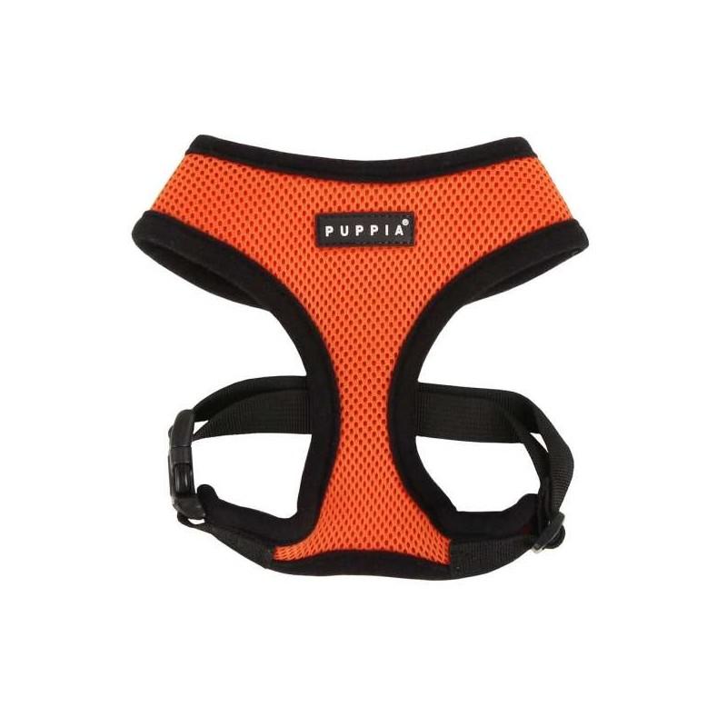 Harnais sport orange pour chien