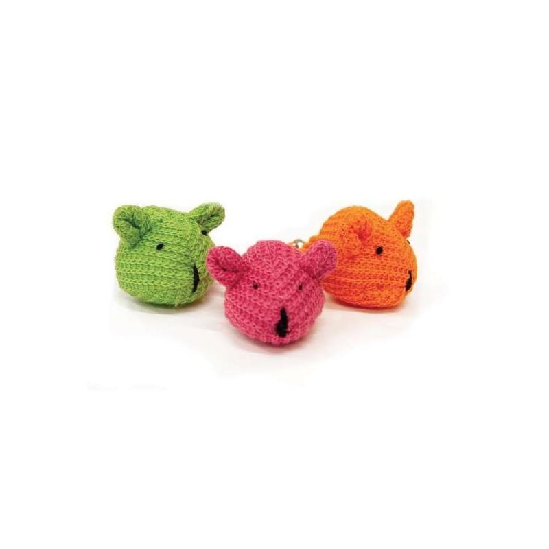 Jouet Souris tricot pour chat