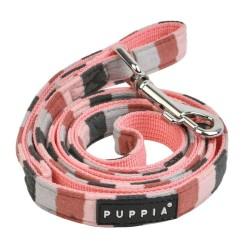 Laisse nylon rose Isola pour chien
