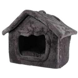 Maison fourrure pour chien et chat